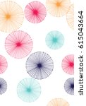 Seamless Dandelion Pattern Wit...