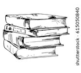 books and pics albums | Shutterstock .eps vector #615050840