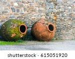 Vintage Amphorae For Wine...