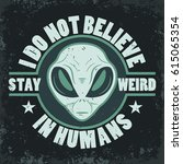 Alien Face Icon Set  Humanoid...