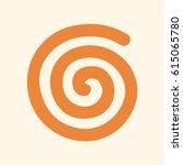 spiral vector symbol | Shutterstock .eps vector #615065780