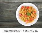 pasta. | Shutterstock . vector #615071216