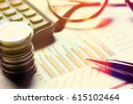 finance savings concept summary ... | Shutterstock . vector #615102464