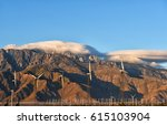 early morning clouds over the... | Shutterstock . vector #615103904