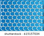 seamless abstract circle... | Shutterstock .eps vector #615157034