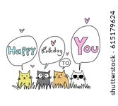 Happy Birthday Card For Cat...