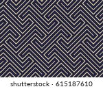 abstract geometric pattern with ... | Shutterstock .eps vector #615187610