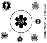 medical  ambulance  icon | Shutterstock .eps vector #615200960