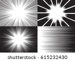 four templates for comic... | Shutterstock .eps vector #615232430