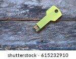 Key Usb Data Storage Isolated...