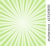 abstract light green rays... | Shutterstock .eps vector #615243830