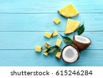 composition of fresh pineapple