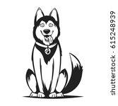 vector monochrome illustration...   Shutterstock .eps vector #615248939