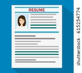 human resources management... | Shutterstock .eps vector #615254774