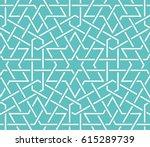 islamic pattern. seamless... | Shutterstock .eps vector #615289739