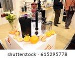 kitchen exhibition 2017 at... | Shutterstock . vector #615295778