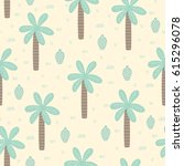 tropical seamless pattern with...   Shutterstock .eps vector #615296078