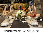 kitchen exhibition 2017 at... | Shutterstock . vector #615310670