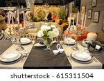 kitchen exhibition 2017 at... | Shutterstock . vector #615311504