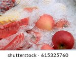 Fresh Fruits Shop Cart With...