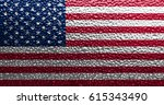 flag of united states | Shutterstock . vector #615343490