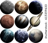 Awesome Quality Planets Solar System - Fine Art prints