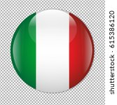 mexican flag icon  | Shutterstock . vector #615386120
