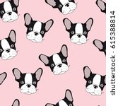 vector seamless pattern with... | Shutterstock .eps vector #615388814