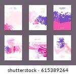 modern grunge brush design...   Shutterstock .eps vector #615389264