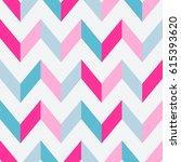 abstract seamless geometric zig ... | Shutterstock .eps vector #615393620