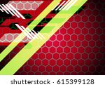 color abstract template for... | Shutterstock . vector #615399128
