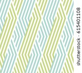 pattern stripe seamless green... | Shutterstock .eps vector #615401108