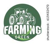 farm house concept logo....   Shutterstock .eps vector #615432470