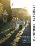 enna  sicily  italy   march 25  ... | Shutterstock . vector #615435194