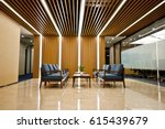office waiting area with sofas  ... | Shutterstock . vector #615439679