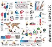 infographics for business...   Shutterstock .eps vector #615465230