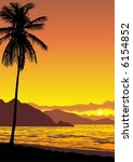 illustration of a tropical...   Shutterstock . vector #6154852