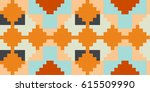 geometric square patterns | Shutterstock .eps vector #615509990