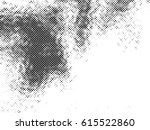grunge halftone background.... | Shutterstock .eps vector #615522860
