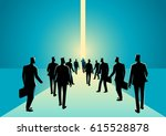 business concept illustration... | Shutterstock .eps vector #615528878