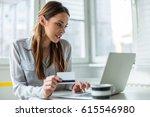 shopping online | Shutterstock . vector #615546980