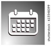 calendar icon  vector...   Shutterstock .eps vector #615548399