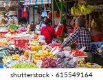hong kong  hong kong   march 10 ... | Shutterstock . vector #615549164