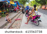 bacong  philippines  26 june ... | Shutterstock . vector #615563738