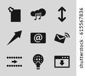 download icons set. set of 9...