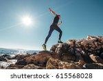running man | Shutterstock . vector #615568028