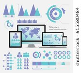 business infographic concept    ... | Shutterstock . vector #615580484