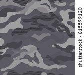 vector camouflage pattern | Shutterstock .eps vector #615599120