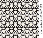 vector seamless geometric... | Shutterstock .eps vector #615601724