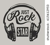 Music Rock Headphones ...